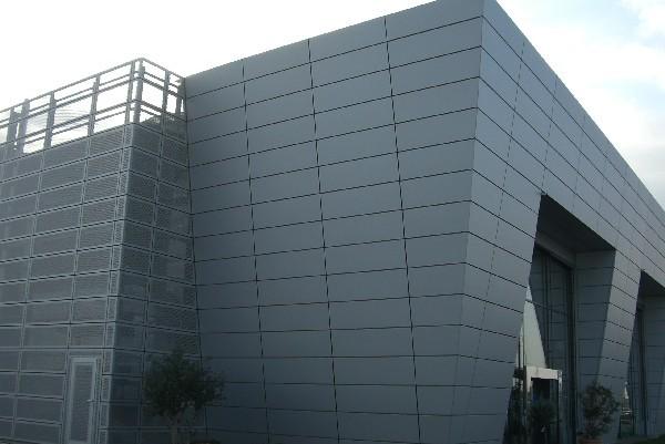 Facciate di capannoni industriali for Piani di capannone per uffici esterni